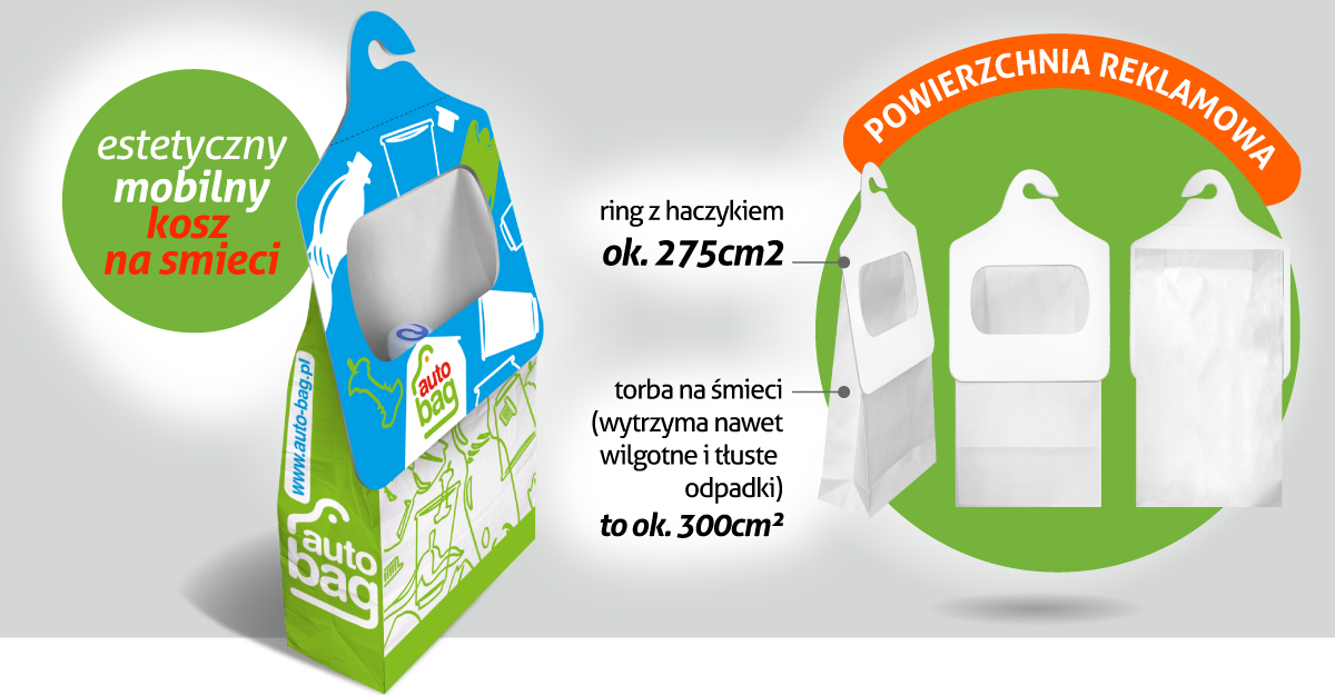 40c7816f9ed57 Auto-Bag to także powierzchnia reklamowa. Dla firm, urzędów, gmin i  instytucji stała się doskonałym narzędziem promocji pro-ekologicznych  zachowań i ...